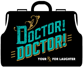 Northern Sky Theater Doctor! Doctor! Play Logo