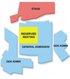 Northern Sky Theater Summer Seating Chart